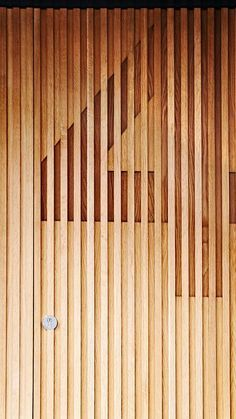 Slatted Wood // THE FINISH BLOG