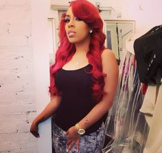 k michelle red hair color | Michelle Promises To Give Fans What They Want In Newly Released ...