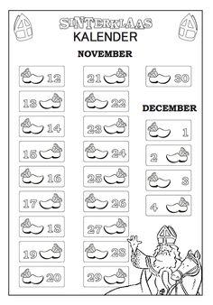 sinterklaas kalender - Google zoeken
