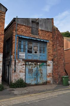 Derelict building in Quay Street, Scarborough