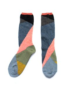 Kapital socks . the sort of socks that look their best without shoes.