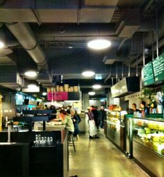 K25 Stockholm style food court. Perfect for lunch.