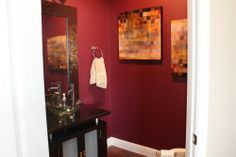 Maroon Paint – Valspar Signature Wine Glass CI 121 Light Tan Paint  - Valspar Signature Lambs Ear