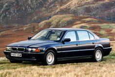 Автомобили на vk.com/maxjournal - 1994 BMW 750iL (E38)