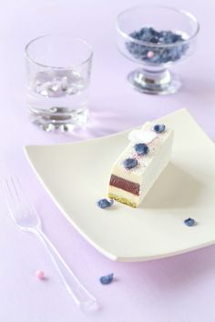 Verdade de sabor: Фиалковые пирожные / Barras mousse de violetas
