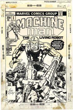 Machine Man, Jack Kirby.