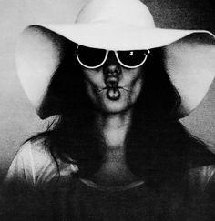 LomoCelebs: Brad Pitt's Black & White Portraits of Angelina Jolie - Lomography