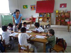 Adrien, un enfant parti en tour du monde en famille à la rencontre des enfants d'ici et d'ailleurs -  A l'école en Equateur