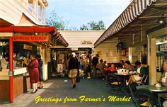 Farmer's Market, Los Angeles, California (I remember it just like this!)
