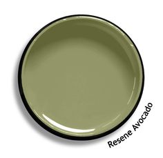 Resene Avocado is a cool olive green, muted and earthy. Available from the Resene Multifinish colour collection this would look great as accent colours for wall panelling Wall Colors, House Colors, Paint Colours, Bedroom Colours, Olive Green Paints, Resene Colours, Green Painted Walls, Willow Green, Green With Blue