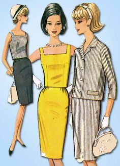 1960s Vintage McCalls Sewing Pattern 7330 Misses Suit Separates Size 30.5-31.5 B