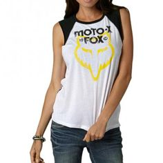 Fox Racing Moto X Muscle Girls Tank Shirts @ $13.72