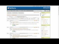 Creating a Bibliography/Writing a Paper - Introduction to RefWorks - LibGuides at ProQuest