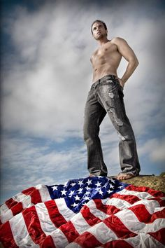 naked male patriotic pics