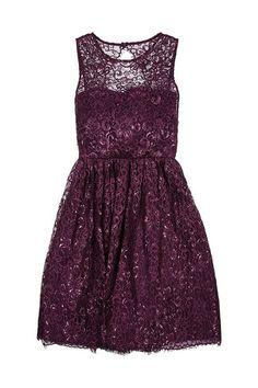 Alice + Olivia Metallic Lace Dress - LoLoBu