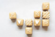 gingerbread petits fours | best friends for frosting