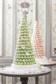 Ladurée macaron towers