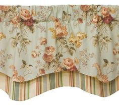 Curtain & Bath Outlet - Garden Sequence Double Classic Valance