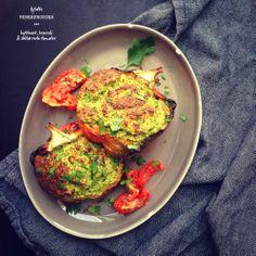 Fyldte peberfrugter med hytteost, broccoli & soltørrede tomater - Vanløse blues...