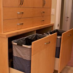 Built In Laundry Hamper In Walk In Closet...removable Baskets