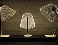 Optical Illusion Bulbing Lamps by Studio Cheha