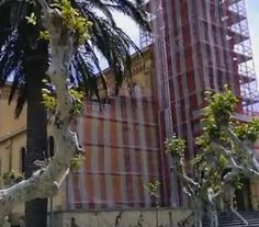La piedra arenisca de la Parroquia de San Ignacio de Algorta sufre los efectos del salitre