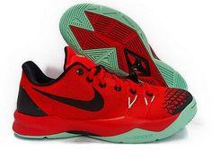 Nike Mens Zoom Kobe Venomenom 4 Basktball Shoe 635578 603 Red/Black/Mint Size 10…