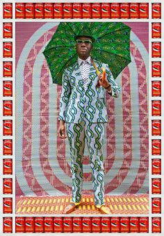 Hassan Hajjaj - Afrikan Boy | From a unique collection of figurative photography at http://www.1stdibs.com/art/photography/figurative-photography/