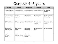 emergent curriculum preschool lesson plan template   the common ...