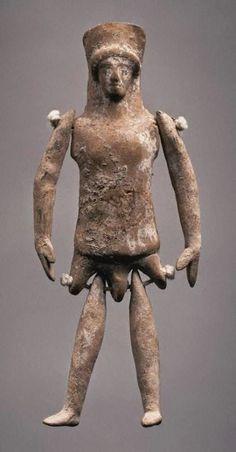 Археология. НОВОСТИ Мира Археологии: В древности куклы делали из глины и металла - редкие фотографии
