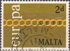 Malta 1971 Europa SG 450 Fine Used SG 450 Scott 426 Other Commonwealth Stamps here