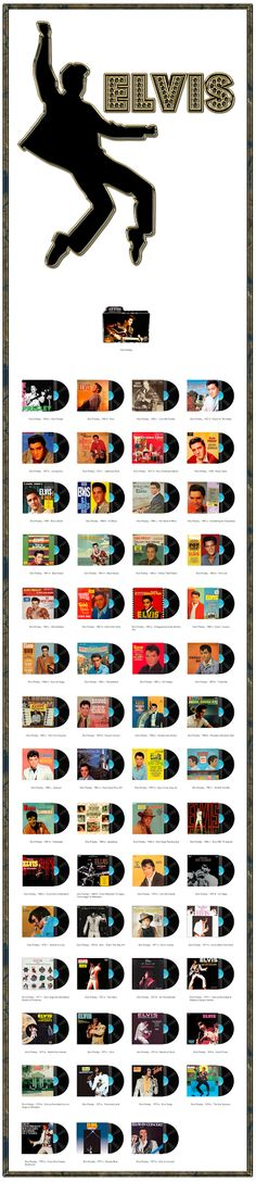 Album Art Icons: Elvis Presley Discography Icons (ICO & PNG)