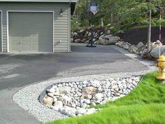 Residential-Gravel-Driveway-Border-Rock-Culvert-and-Perennial-Garden-Boulder-Retaining-Wall-System.jpg (625×469)