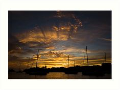 #BeautifulSunset at #Grenada #Island | #TravelPhotography #travelphoto #travelphotoprint #amazingsunset #burningsky #caribbeansky #caribbean #luciaeggenhoffer