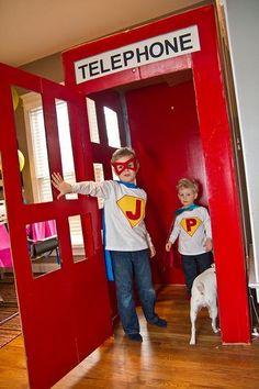 superhero party I need a huge box!!!!