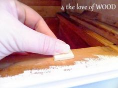 4 the love of wood: FIXING DRAWER STOPS