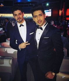 Sooraj Pancholi and Armaan Malik at #TOIFA2016
