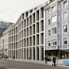 Kaufhaus Tyrol shopping centre in Innsbruck by David Chipperfield Architects