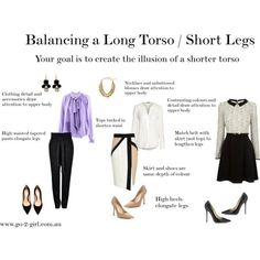 Short torso long legs dresses