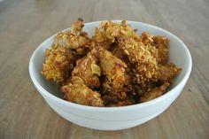 Crispy chicken zonder pakjes en zakjes