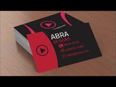 Adobe photoshop cc 2017 cool creative business card youtube photoshop cc 2017 awesome creative business card youtube reheart Image collections