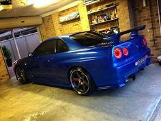 Nissan Skyline R34 #NissanSkylineR34
