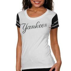'47 Brand New York Yankees Women's Grand Slam T-Shirt - White