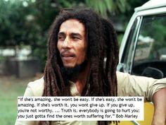If she's amazing,...