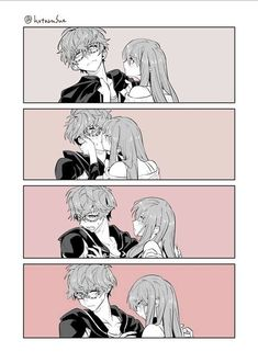 Find images and videos about comic, Mc and mystic messenger on We Heart It - the app to get lost in what you love. Mystic Messenger Zen, Mystic Messenger Fanart, Mystic Messenger Memes, Cute Couple Comics, Couples Comics, Cute Comics, Anime Couples Drawings, Anime Couples Manga, Cute Anime Couples