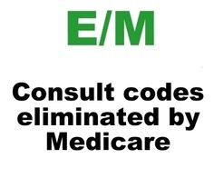 Consult Codes Eliminated By Medicare.
