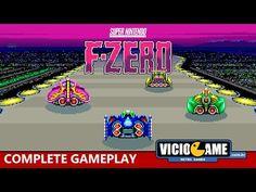 F-Zero (Super Nintendo) Complete Gameplay: http://wp.me/p90oS-OB #viciogame