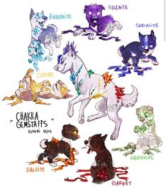 Matrix her children design dogs and cats when they are pups or kits they help make a kit special and a wolf who they are. They can't controll if they are nice or evil. Their mother matrix Is like the queen of the galaxy