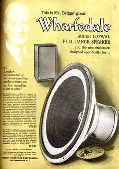 retro vintage modern hi-fi: Wharfedale Vintage Market, Vintage Ads, Vintage Modern, Electrical Projects, Loudspeaker, Audio Equipment, Audiophile, Turntable, Speakers