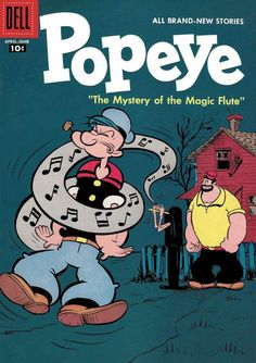 Cover for Popeye (1948 series) #40